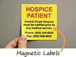 Magnetic Labels